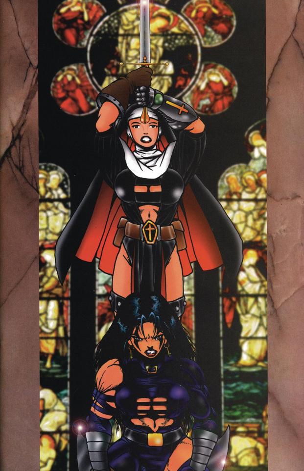 Warrior Nun #1 (Razor Commemorative Cover)
