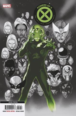 Powers of X #4 (Silva 2nd Printing)