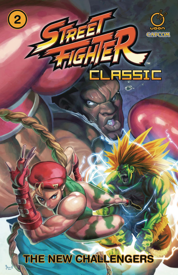 Street Fighter Classic Vol. 2: New Challengers