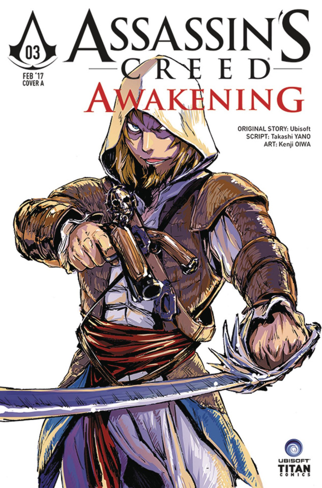 Assassin's Creed: Awakening #3 (Kenji Cover)