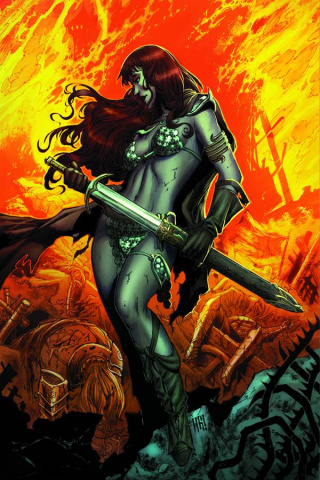 Red Sonja: Vulture's Circle #1 (Rare Geovani Virgin Cover)