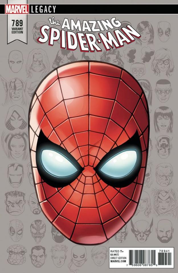 The Amazing Spider-Man #789 (McKone Legacy Headshot Cover)
