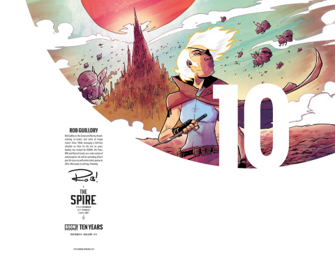 The Spire #1 (10 Copy 10 Year Guillory Cover)
