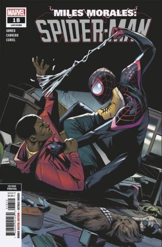 Miles Morales: Spider-Man #18 (Carnero 2nd Printing)