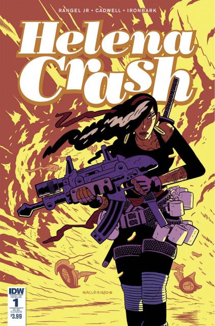 Helena Crash #1 (Subscription Cover)