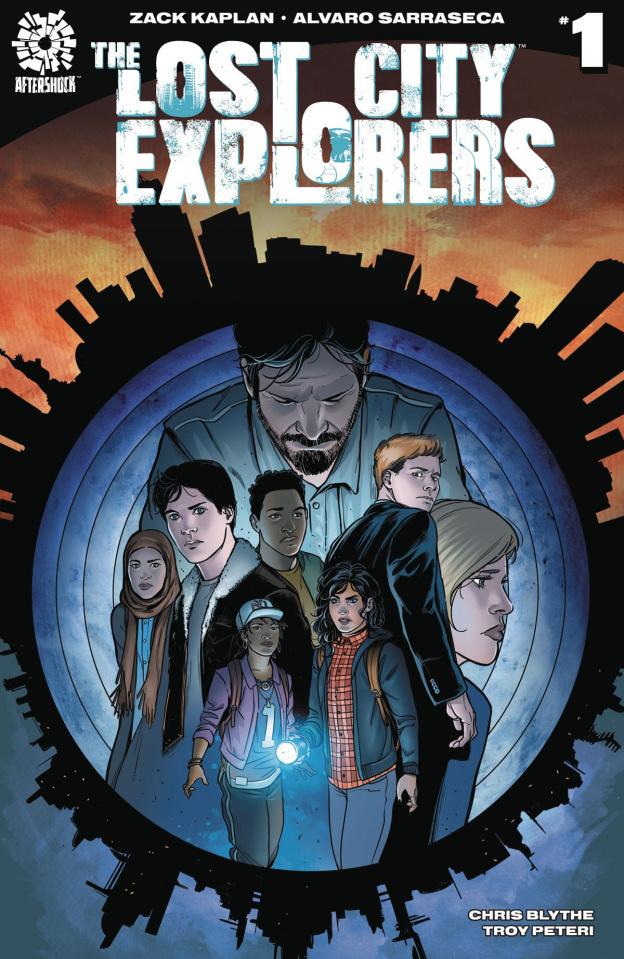 The Lost City Explorers #1 (Sarraseca Cover)