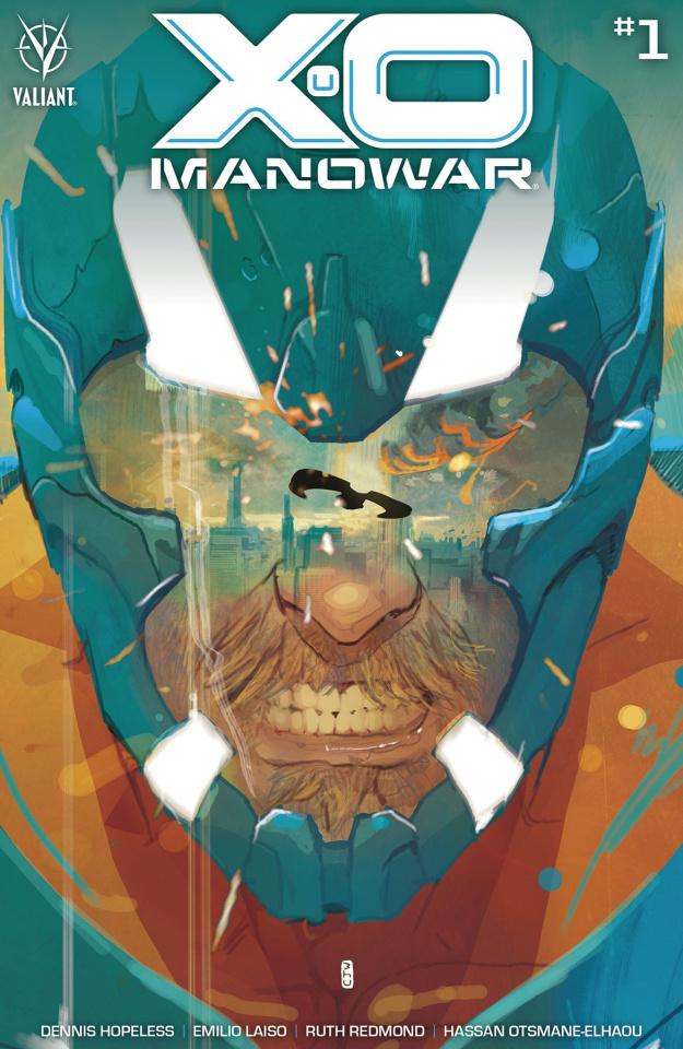 X-O Manowar #1 (Ward Cover)