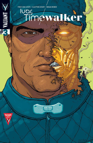 Ivar, Timewalker #3 (20 Copy Villalobos Cover)