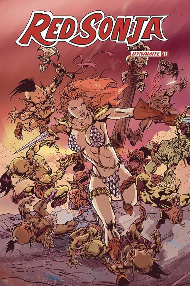 Red Sonja #17 (Castro Cover)