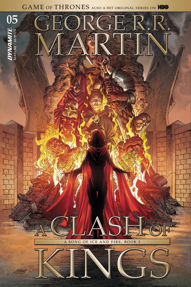 A Game of Thrones: A Clash of Kings #5 (Miller Cover)