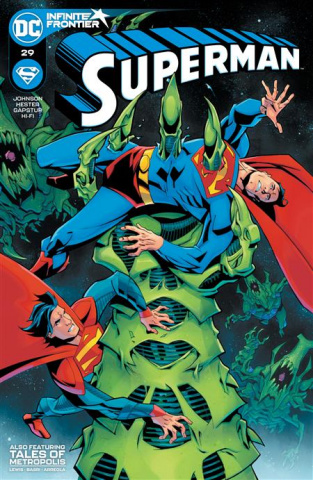 Superman #29 (Phil Hester Cover)
