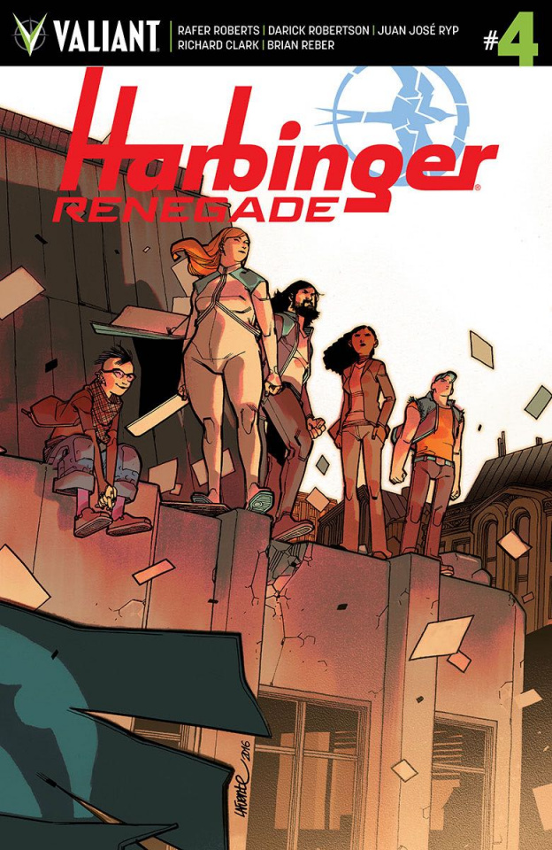 Harbinger: Renegade #4 (10 Copy Lafuente Cover)