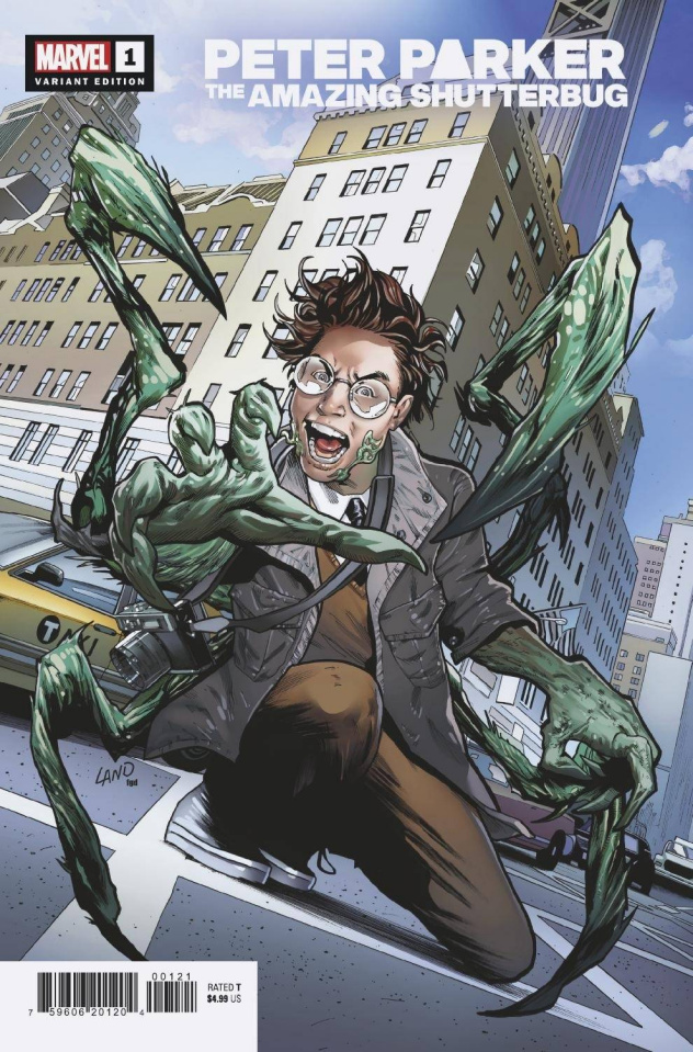 Heroes Reborn: Peter Parker, The Amazing Shutterbug #1 (Land Cover)