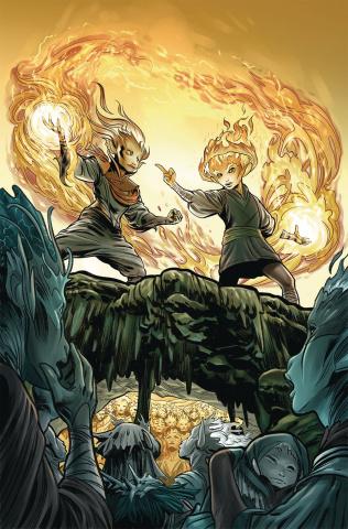 Beneath the Dark Crystal #5 (Dewey Cover)