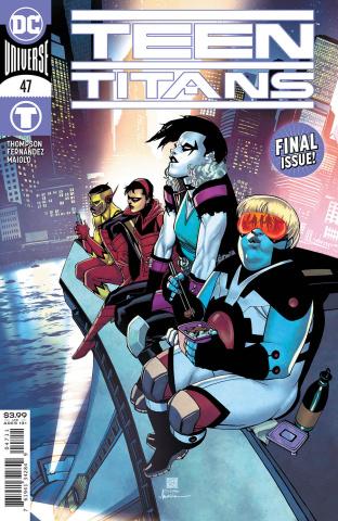 Teen Titans #47 (Bernard Chang Cover)