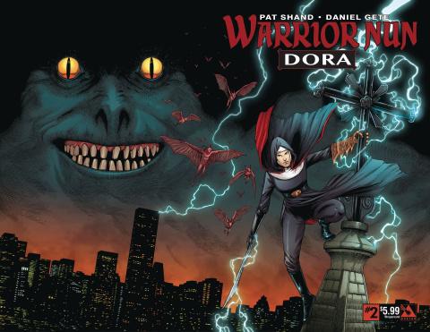 Warrior Nun: Dora #2 (Wrap Cover)