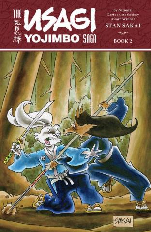 The Usagi Yojimbo Saga Vol. 2