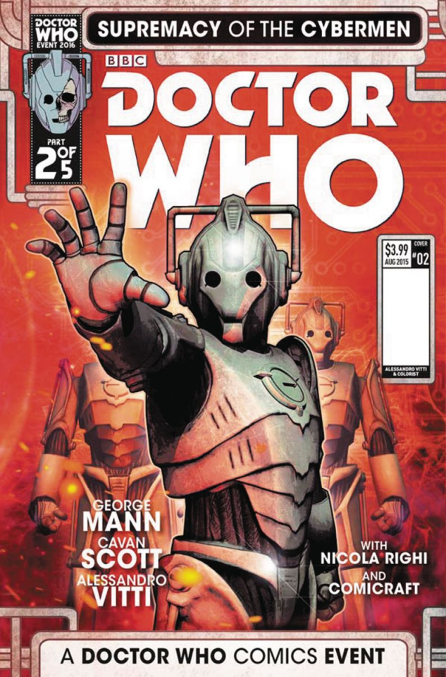 Doctor Who: Supremacy of the Cybermen #2 (Listran Cover)