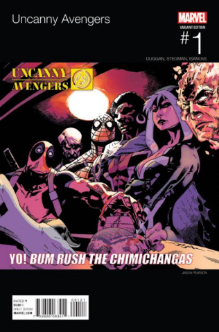 Uncanny Avengers #1 (Pearson Hip Hop Cover)