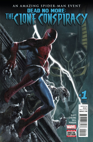 The Clone Conspiracy #1 (2nd Printing Dell'otto Cover)