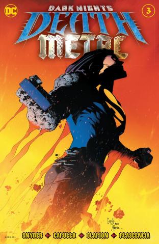 Dark Nights: Death Metal #3 (Greg Capullo Embossed Foil Cover)