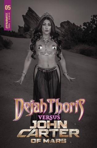 Dejah Thoris vs. John Carter of Mars #5 (20 Copy Cosplay Cover)