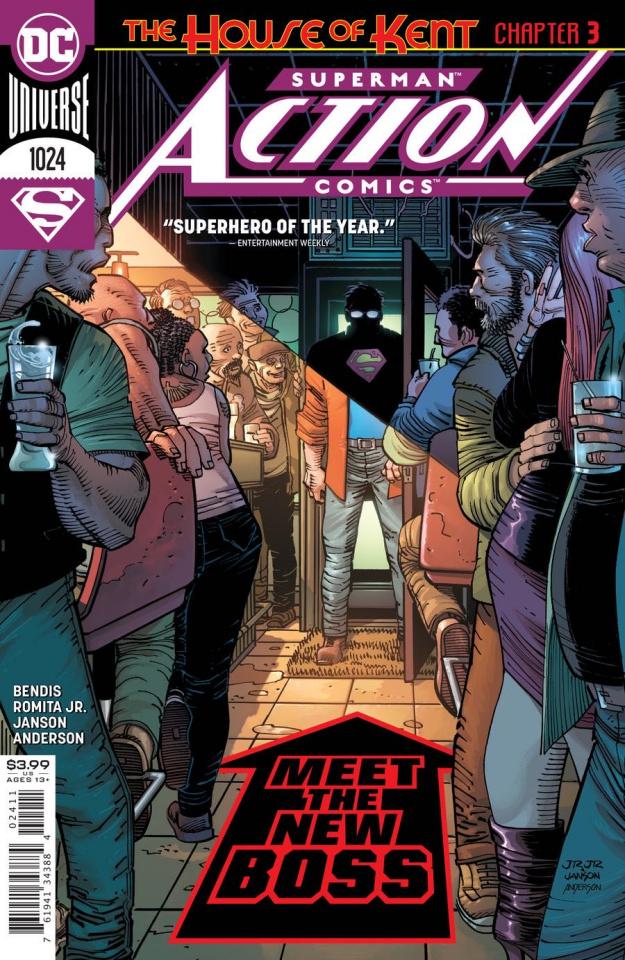 Action Comics #1024 (John Romita Jr Cover)