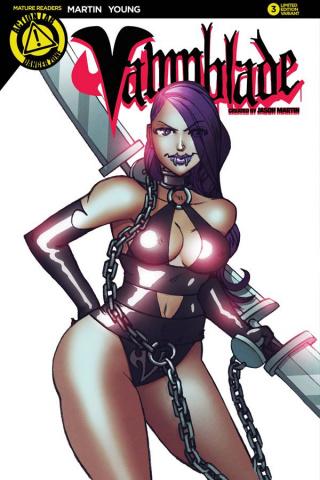 Vampblade #3 (Martin Cover)