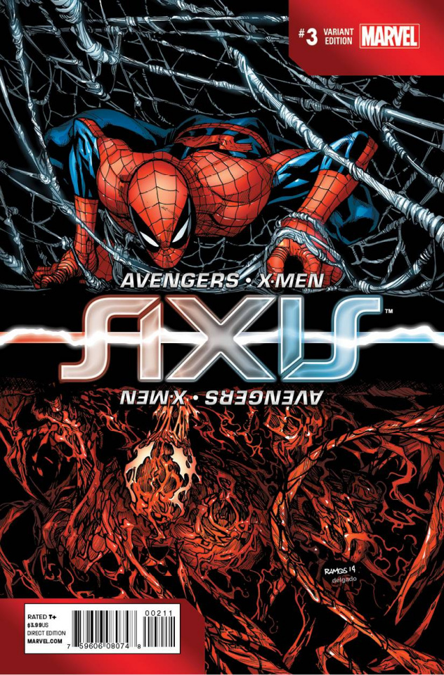 Avengers and X-Men: AXIS #3 (Inversion Cover)