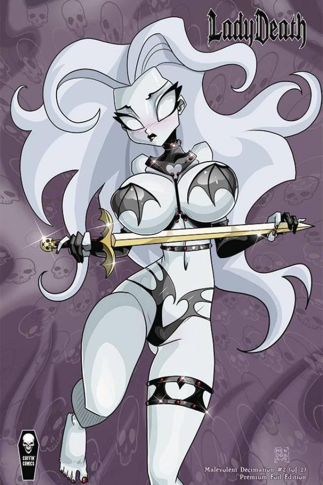 Lady Death: Malevolent Decimation #2 (Foil Mendoza Cover)