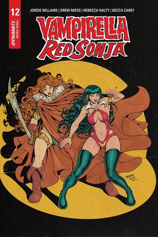 Vampirella / Red Sonja #12 (7 Copy Robson Homage Cover)