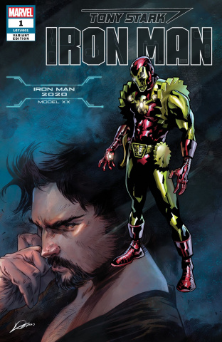 Tony Stark: Iron Man #1 (Iron Man 2020 Armor Cover)