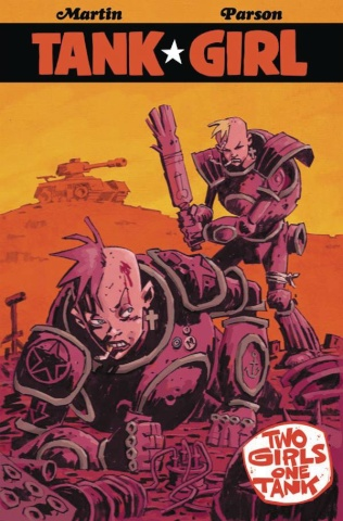 Tank Girl: Two Girls, One Tank #2 (Davis Cover)
