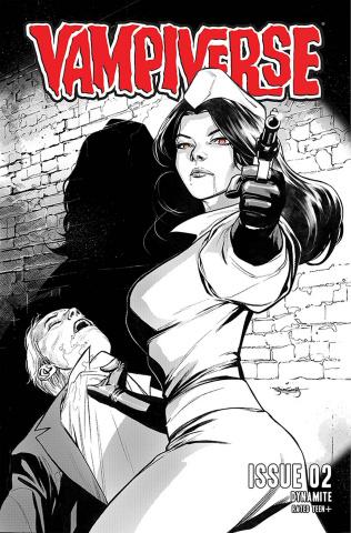 Vampiverse #2 (10 Copy Segovia Line Art Cover)