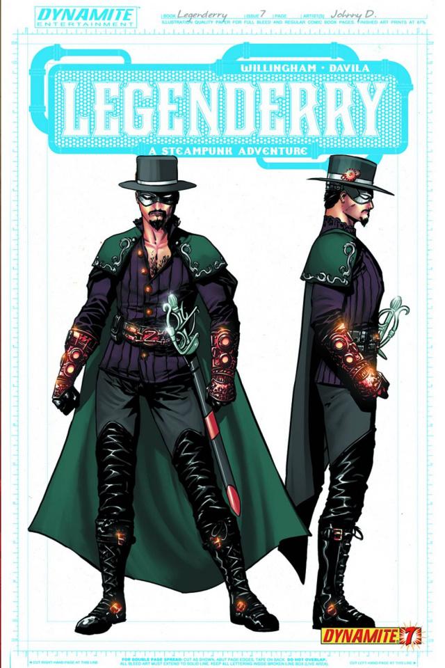 Legenderry: A Steampunk Adventure #7 (25 Copy Concept Cover)