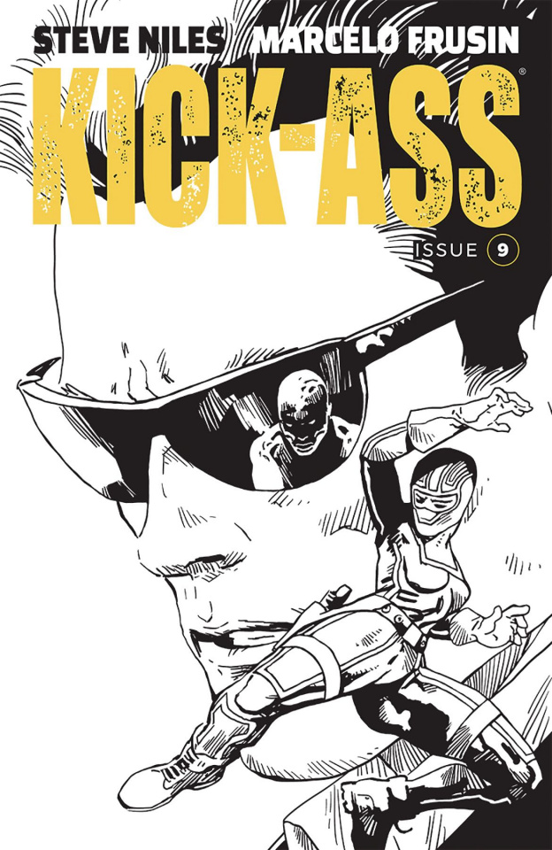 Kick-Ass #9 (Frusin Cover)