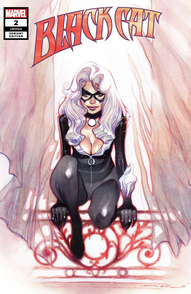 Black Cat #2 (Coipel Cover)