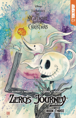 The Nightmare Before Christmas: Zero's Journey Vol. 3 (Mack Cover)