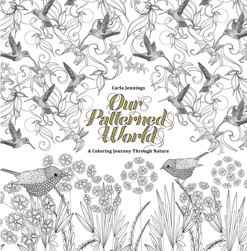 Our Patterned World: A Coloring Journey Through Nature