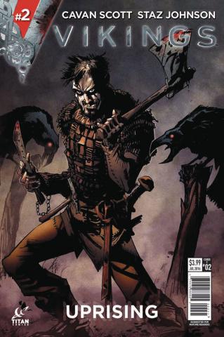 Vikings: Uprising #2 (McCrea Cover)
