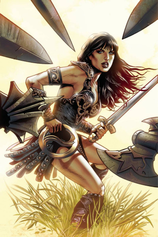 Xena: Warrior Princess #1 (Rare Land Virgin Cover)