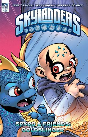 Skylanders Quarterly: Spyro & Friends - Goldslinger (Cover B)