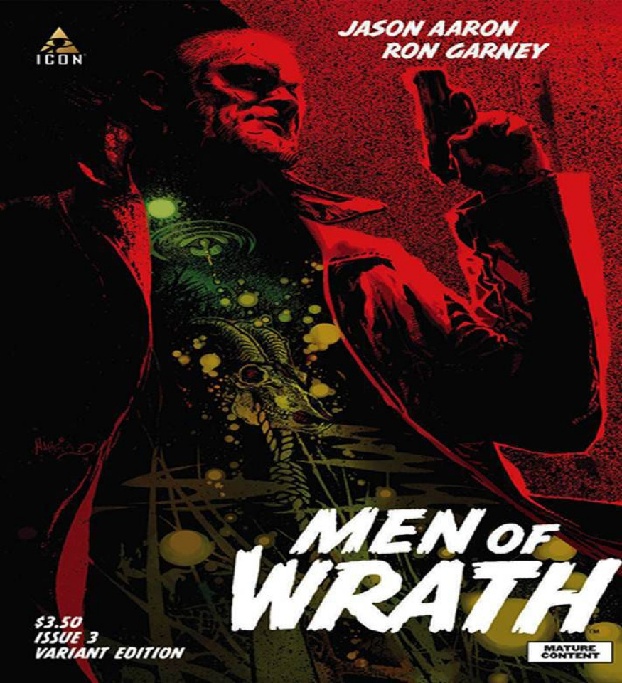 Men of Wrath #3 (Harris Cover)