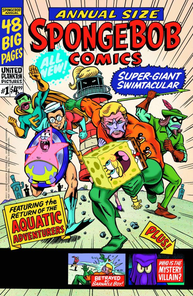 Spongebob Comics Annual Giant Swimtacular #1