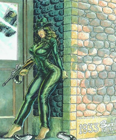 Cavewoman: Gangster #2 (Budd Root Special Edition)