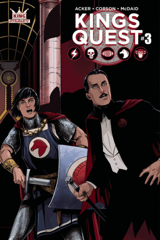 Kings Quest #3 (Laming Cover)