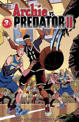 Archie vs. Predator II #3 (Hester Cover)