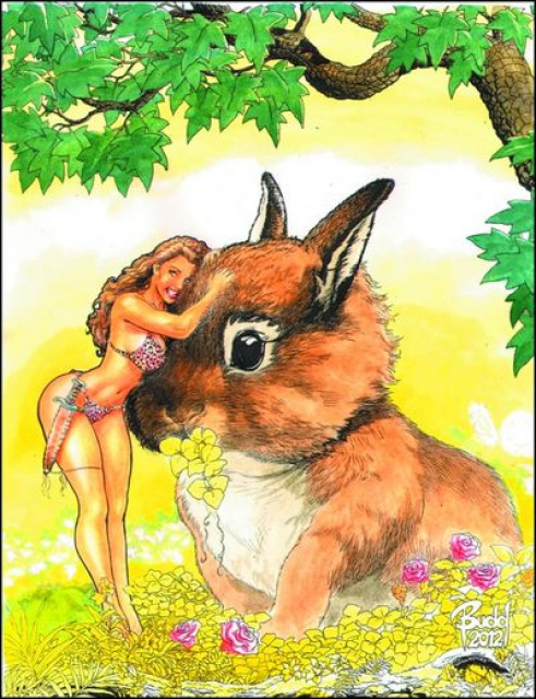 Cavewoman: Bunny Ranch Budd Root Special Edition