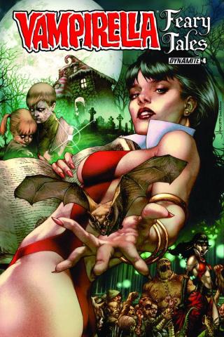 Vampirella: Feary Tales #4 (Anacleto Cover)