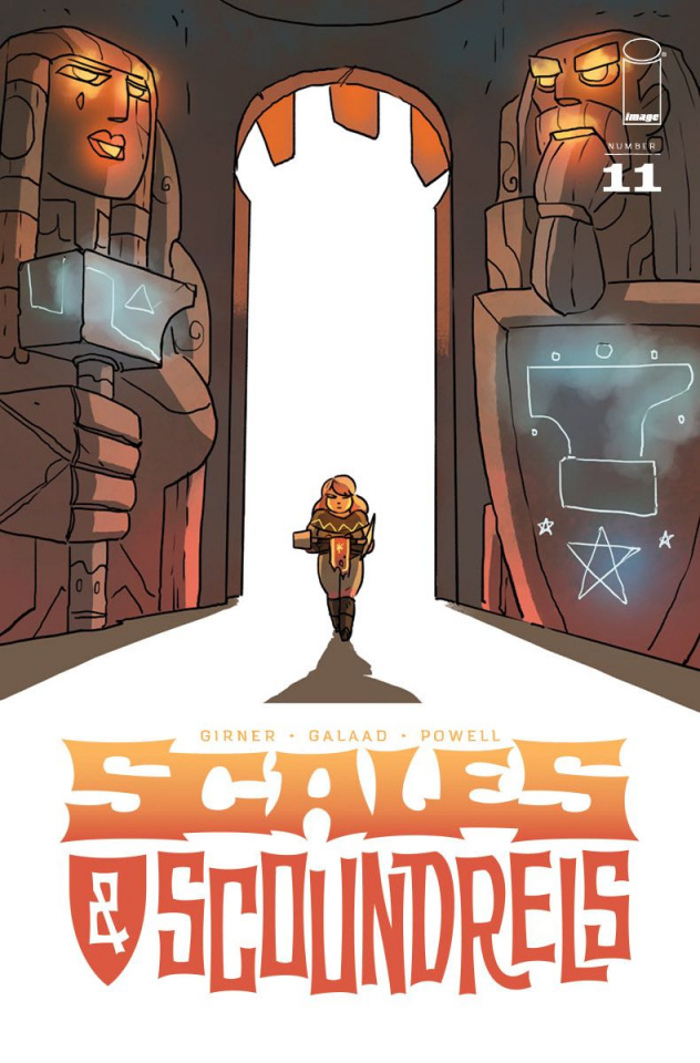 Scales & Scoundrels #11 (Galaad Cover)